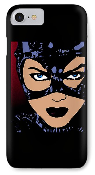 Catwoman-night Prowl-2 IPhone Case