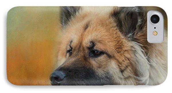 Caucasian Shepherd Dog IPhone Case by Eva Lechner