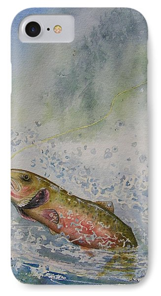 Caught Phone Case by Gale Cochran-Smith
