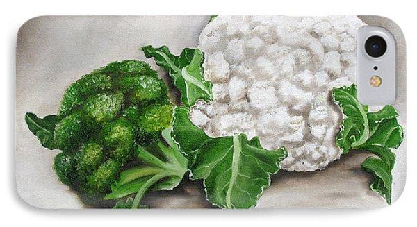 Cauliflower Phone Case by Ilse Kleyn