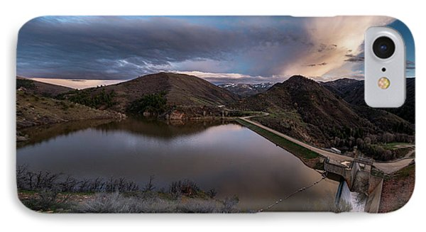 Causey Spring Sunset Phone Case by Justin Johnson