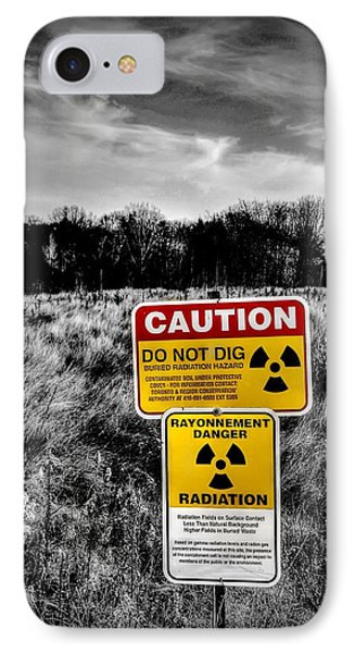 IPhone Case featuring the photograph Caution by Michaela Preston