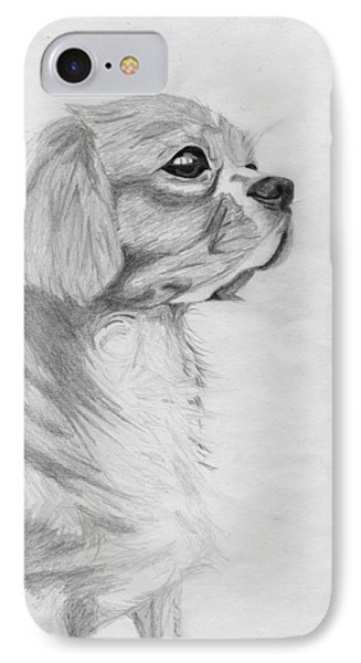 Cavalier King Charles Spaniel 3 IPhone Case
