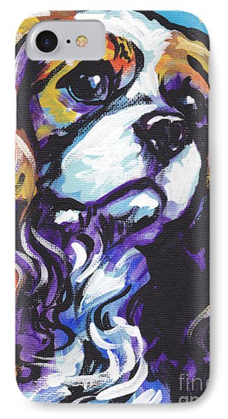 Cavalier King Charles Spaniel IPhone Case by Lea S