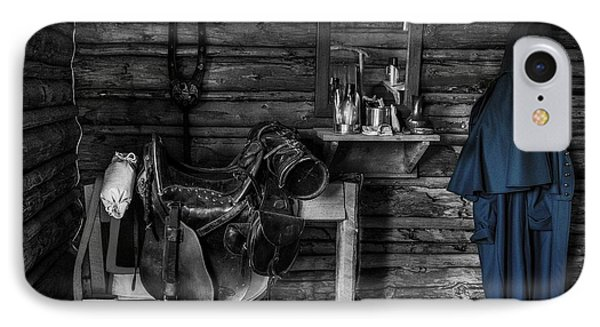 Cavalry Bunkhouse IPhone Case by Mountain Dreams