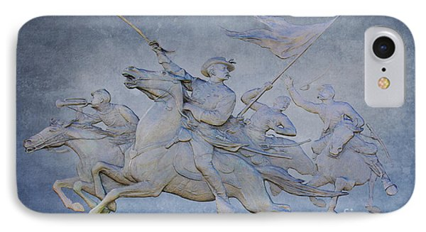 Cavalry Charge Gettysburg Battlefield IPhone Case