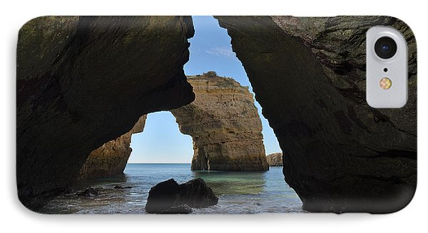 Cave And Arch In Albandeira IPhone Case