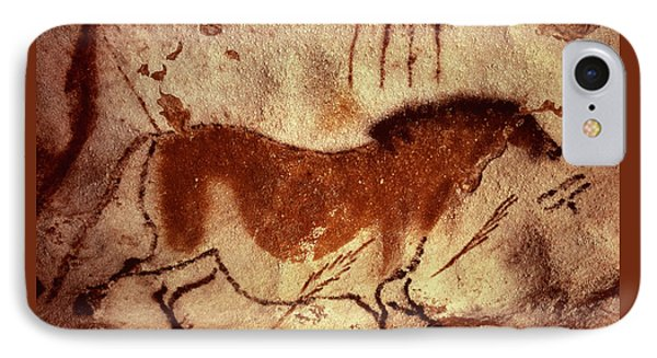 Cave Painting Of A Horse IPhone Case by Unknown