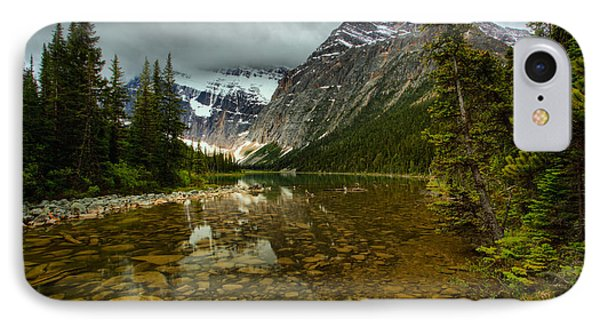 Cavell Lake Reflections IPhone Case