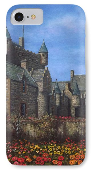 Cawdor Castle In Summertime Phone Case by Sean Conlon