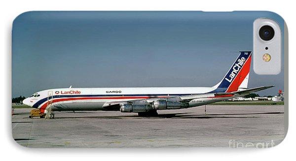 Cc-ceb, Boeing 707-385c, Lan Chile Cargo, Jt3d-3b S2, Jt3d IPhone Case