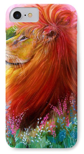 Cecil  IPhone Case by Patrice Torrillo
