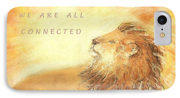 Cecil The Lion IPhone Case by Denise Fulmer