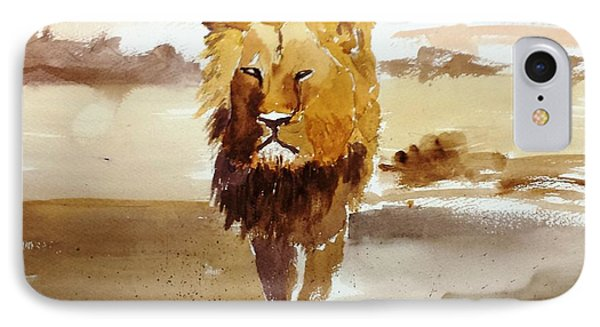 Cecil The Lion IPhone Case by Larry Hamilton