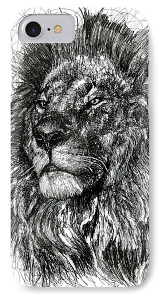 Cecil The Lion IPhone 7 Case by Michael  Volpicelli