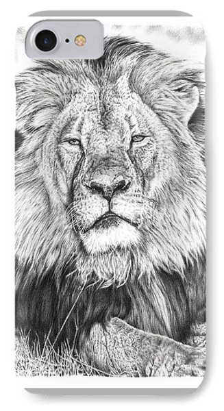 Cecil The Lion  IPhone Case by Remrov