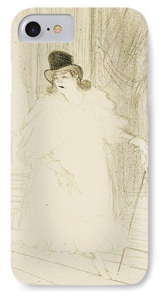 Cecy Loftus IPhone Case by Henri De Toulouse-Lautrec