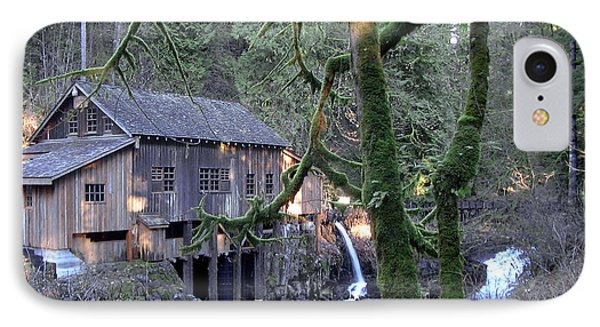 IPhone Case featuring the photograph Cedar Creek Grist Mill by Larry Keahey