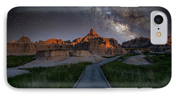 IPhone Case featuring the photograph Cedar Pass Milky Way by Darren White