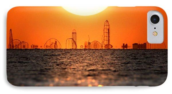 Cedar Point Skyline 2 IPhone Case