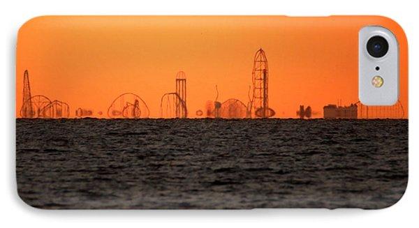 Cedar Point Skyline IPhone Case by Rob Blair