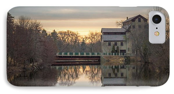 Cedarburg Mill IPhone Case by James  Meyer