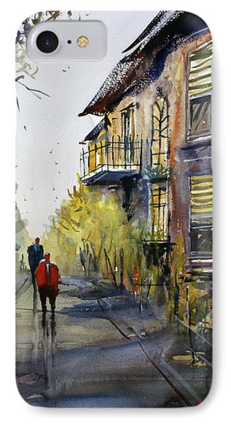 Cedarburg Shadows IPhone Case by Ryan Radke