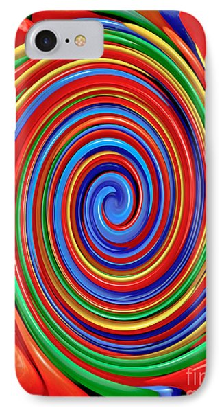 Celebrate Life And Have A Swirl IPhone Case by Carol F Austin