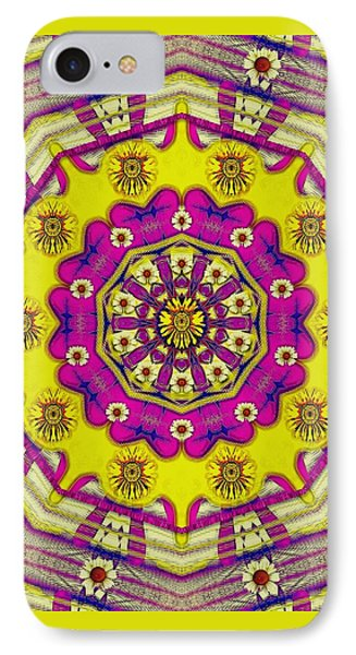 Celebrating Summer In Soul And Mind Mandala Style. IPhone Case