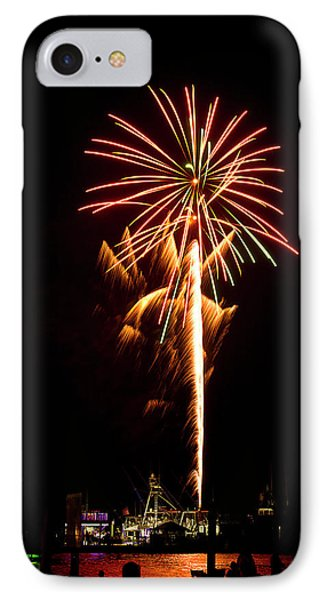 IPhone Case featuring the photograph Celebration Fireworks by Bill Barber