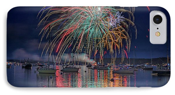 Celebration In Boothbay Harbor IPhone Case