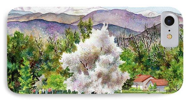 Rocky Mountain iPhone 7 Case - Celeste's Farm by Anne Gifford