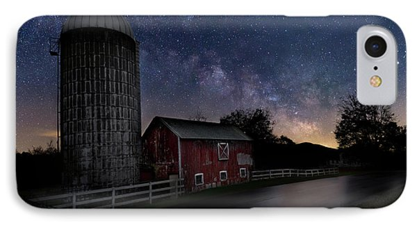 IPhone 7 Case featuring the photograph Celestial Farm by Bill Wakeley