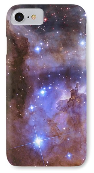 Celestial Fireworks - Hubble 25th Anniversary Image IPhone Case