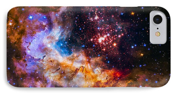 Celestial Fireworks IPhone Case by Marco Oliveira