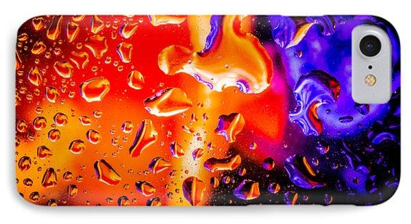 Celestial Fusion Break  IPhone Case by Bruce Pritchett