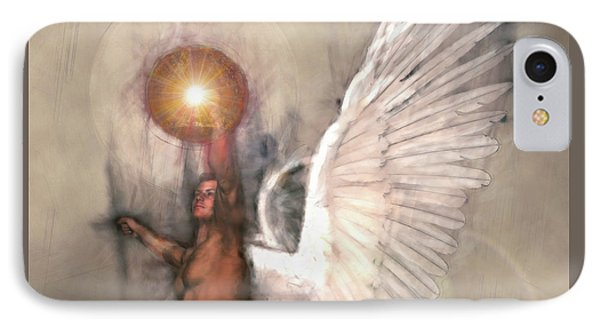 Celestial Glory Phone Case by Michael Durst