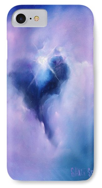 Celestial Heart IPhone Case by Sally Seago