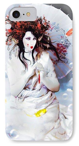 Celestial Koi Geisha IPhone Case