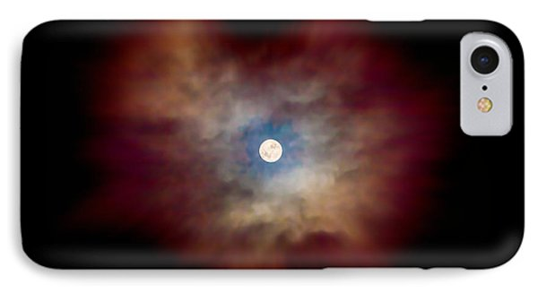 Celestial Moon IPhone Case by Az Jackson