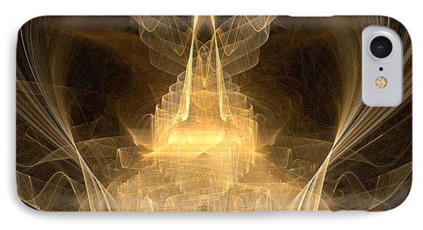 IPhone Case featuring the digital art Celestial by R Thomas Brass