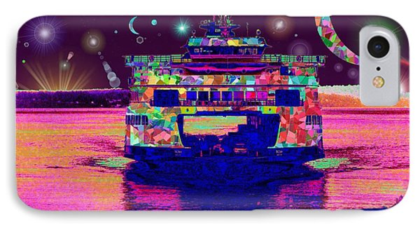 Celestial Sailing Phone Case by Tim Allen