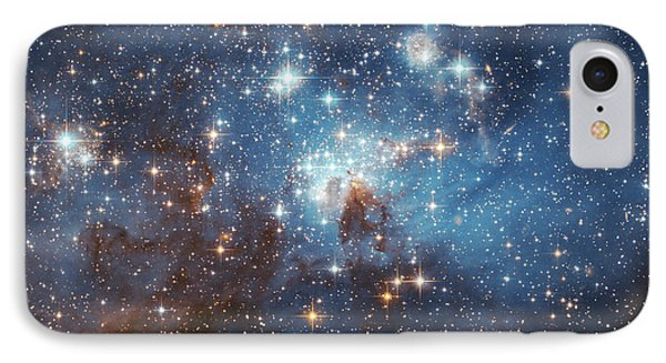 IPhone Case featuring the photograph Celestial Season's Greetings From Hubble by Nasa