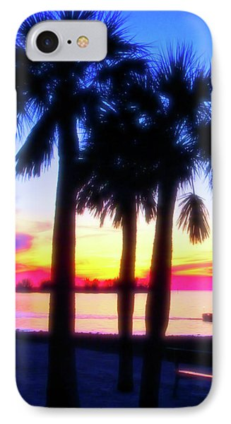 IPhone Case featuring the photograph Celestial Skies Beach Sunset by Aimee L Maher Photography and Art Visit ALMGallerydotcom