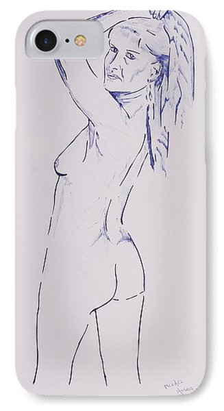 Celestine Imagina IPhone Case by Contemporary Michael Angelo