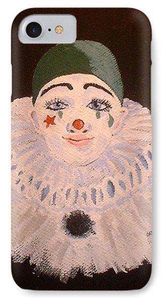 Celine The Clown Phone Case by Arlene  Wright-Correll
