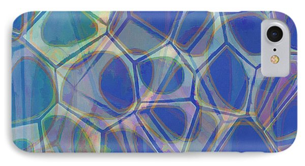 Cell Abstract One IPhone Case by Edward Fielding