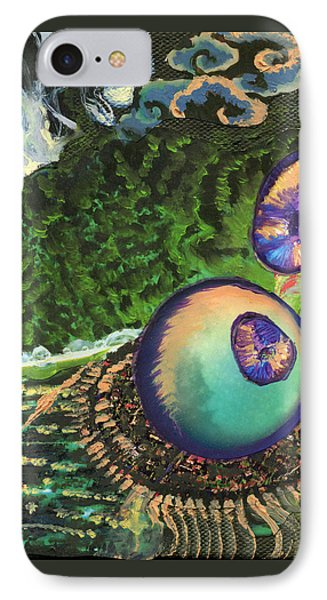 Cell Interior Microbiology Landscapes Series IPhone Case by Emily McLaughlin
