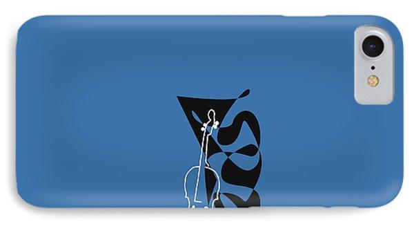 Cello In Blue IPhone Case