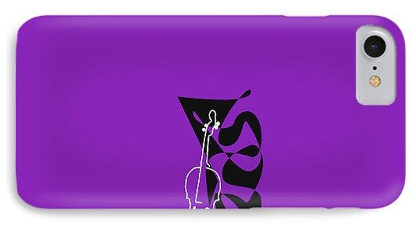 Cello In Purple IPhone Case